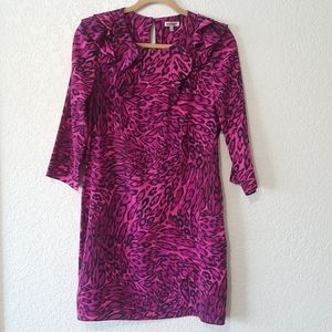 Juicy Couture Pink Leopard Print Dress